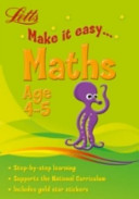 Letts Make It Easy - Maths Age 4-5