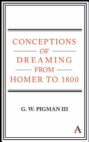 Conceptions of Dreaming from Homer to 1800