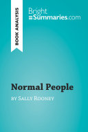 Normal People by Sally Rooney  Book Analysis