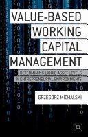 Pdf Value-Based Working Capital Management