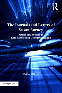 Pdf The Journals and Letters of Susan Burney Telecharger