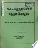 Pisgah National Forest (N.F.), Wild and Scenic River(s) (WSR) Study, North Fork River, South Fork, and Mills River