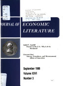 Journal of Economic Literature Book