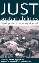 Just Sustainabilities