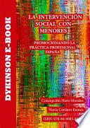 La intervención social con menores. Promocionando la práctica profesional. España
