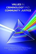 Pdf Values in criminology and community justice