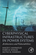 Cyberphysical Infrastructures in Power Systems Book