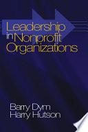 Leadership in Nonprofit Organizations