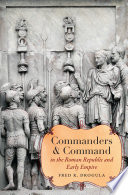 Commanders and Command in the Roman Republic and Early Empire Book