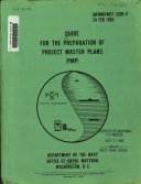 Guide for the Preparation of Project Master Plans  PMP