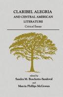 Claribel Alegria and Central American Literature Book