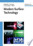 Modern Surface Technology Book