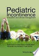 Pediatric Incontinence