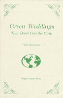 Green Weddings that Don t Cost the Earth