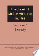 Supplement to the Handbook of Middle American Indians, Volume 5