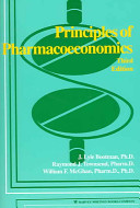 Principles of Pharmacoeconomics