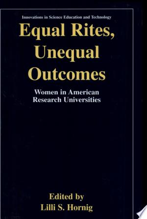 Download Equal Rites, Unequal Outcomes Free Books - Dlebooks.net