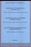 Quellen Des Internationalen Einheitsrechts