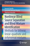 Nonlinear Blind Source Separation and Blind Mixture Identification