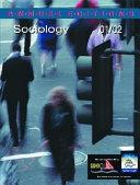 Sociology  2001 2002