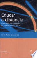 Educar a distancia