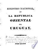 Registro nacional de la República Oriental del Uruguay