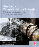 Handbook of Materials Failure Analysis with Case Studies from the Construction Industries