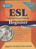 English as a Second Language Beginner