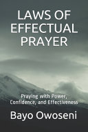 Laws of Effectual Prayer