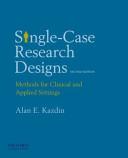 Single case Research Designs