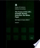 The Future Of The Uk S Strategic Nuclear Deterrent