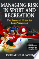 Managing Risk in Sport and Recreation Book
