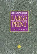 Living Bible Large Print Red Letter Edition