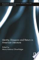 Identity Diaspora And Return In American Literature Book PDF