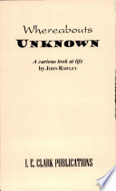 Whereabouts Unknown Book PDF