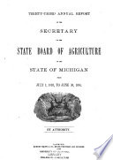 Annual Report Of The Agricultural Experiment Station Michigan State University