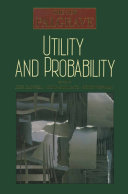 Utility and Probability Pdf/ePub eBook