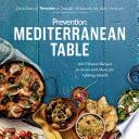 Prevention Mediterranean Table