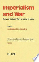 imperialism and war essays on colonial wars in asia and africa   imperialism and war