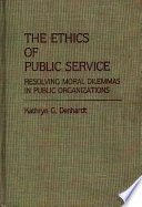 The Ethics of Public Service