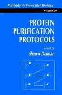 Protein Purification Protocols ebook