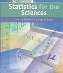 Statistics for the Sciences Book