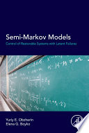 Semi Markov Models Book