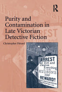 Pdf Purity and Contamination in Late Victorian Detective Fiction
