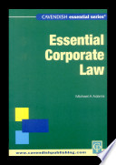 Essential Corporate Law