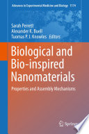 Biological And Bio Inspired Nanomaterials