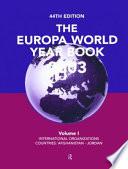 The Europa World Year Book 2003