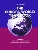 The Europa World Year Book 2003