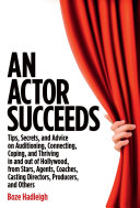 An Actor Succeeds [Pdf/ePub] eBook