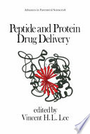 Peptide and Protein Drug Delivery Book